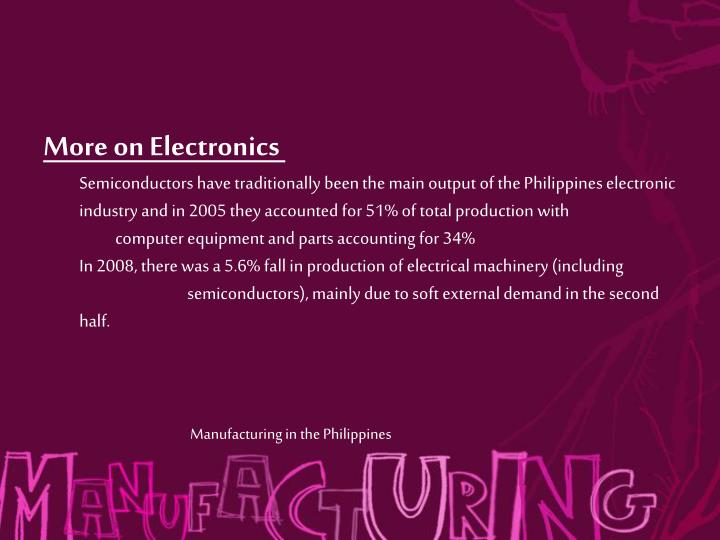 More on Electronics