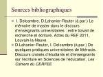 sources bibliographiques1
