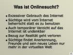 was ist onlinesucht