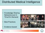 distributed medical intelligence