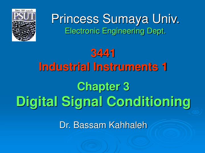 3441 industrial instruments 1 chapter 3 digital signal conditioning n.