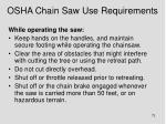 osha chain saw use requirements1