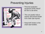 preventing injuries