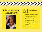 a grandparent s adjustment