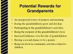 potential rewards for grandparents
