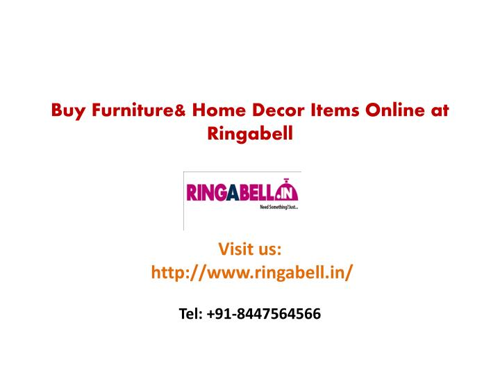 buy furniture home decor items online at ringabell n.