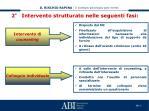 2 intervento strutturato nelle seguenti fasi