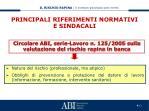 principali riferimenti normativi e sindacali4