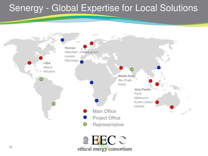Senergy - Global Expertise for Local Solutions