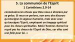 5 la communion de l esprit 1 corinthiens 2 9 141
