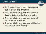 club builders