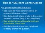 tips for mc item construction8