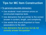 tips for mc item construction9
