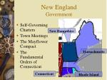 new england government