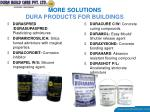 more solutions dura products for buildings