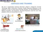 services and training