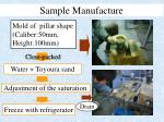 sample manufacture