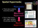 spatial hypermedia