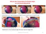 mesure des 3 param tres du double angle sur une boule d j perc e