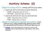 auxiliary schema 2
