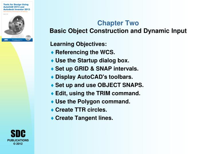chapter two basic object construction and dynamic input n.