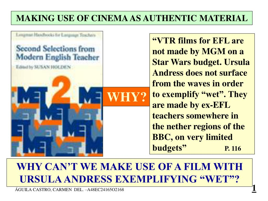 Ppt Why Can T We Make Use Of A Film With Ursula Andress Exemplifying Wet Powerpoint Presentation Id 6985131