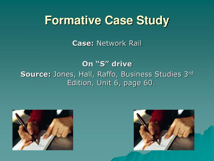Formative Case Study