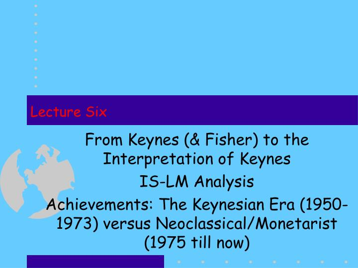 the difference between keynesian and neoclassical The major schools of economics can be divided into neoclassical theories and non-neoclassical there is a good deal of neoclassical theory in new keynesian economics.