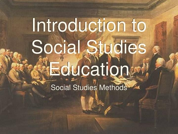 introduction to social studies education n.