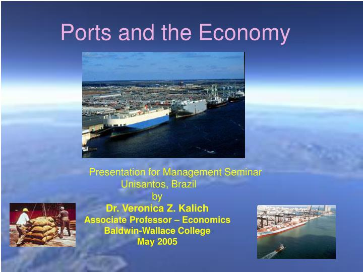 ports and the economy n.