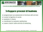 sviluppare processi di business1