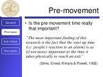 pre movement1