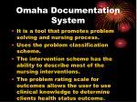 omaha documentation system1