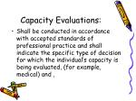 capacity evaluations3