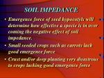 soil impedance