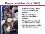 kangaroo mother care kmc