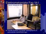 elektromekaniske fag vk15