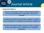 journal article