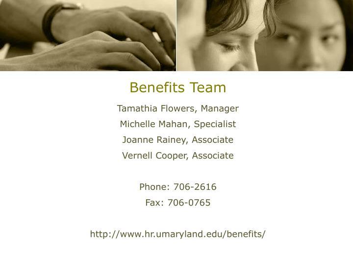 Benefits Team