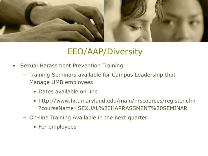 EEO/AAP/Diversity