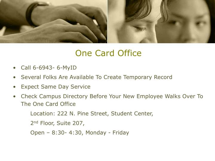 One Card Office