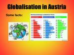 globalisation in austria