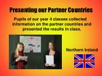 presenting our partner countries