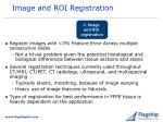 image and roi registration