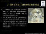 3 ley de la termondin mica