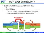 hdf eos5 and netcdf 4