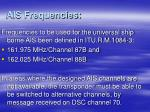ais frequencies