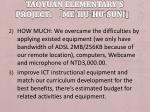 taoyuan elementary s project me hu hu sun9