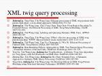 xml twig query processing1