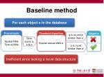 baseline method